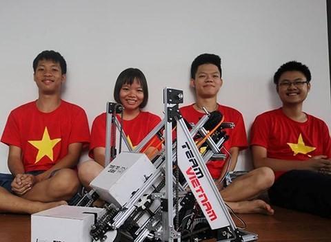 Meritorio desempeño de Vietnam en Mundial de Robótica en México - ảnh 1