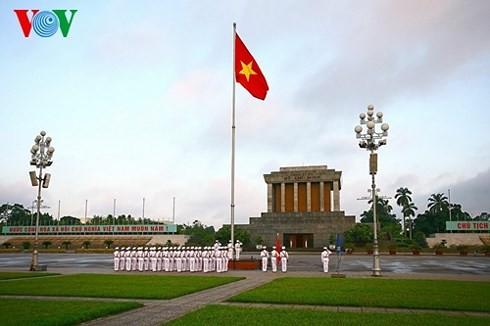 Plaza Ba Dinh sella el nacimiento de la República Democrática de Vietnam - ảnh 3