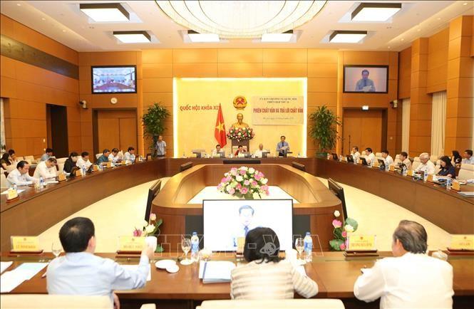Preparan agenda de XXVII reunión del Comité Permanente del Parlamento vietnamita - ảnh 1