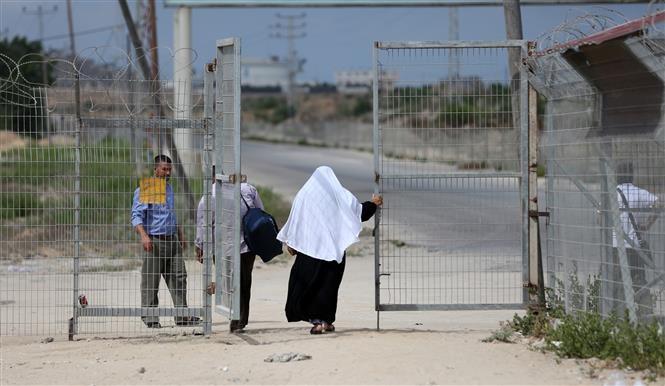 Israel reabre el único paso fronterizo con Gaza por donde transitan personas - ảnh 1