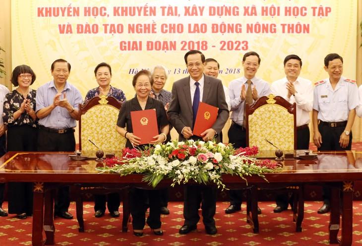 Vietnam promueve el estudio y formación vocacional  - ảnh 1