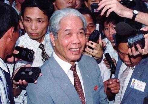 Repercusión internacional de fallecimiento del ex líder partidista Do Muoi - ảnh 1