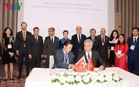 La presidenta del Parlamento de Vietnam participa en el Foro de Negocios e Inversión con Turquía - ảnh 1