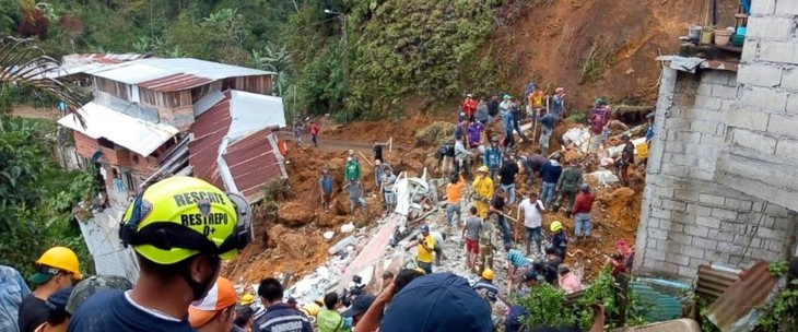 Deslizamiento por lluvias en Colombia deja varios muertos - ảnh 1