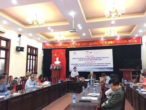 Elevan capacidad logística de Vietnam - ảnh 1
