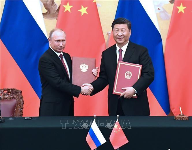 Cooperación Rusia y China: un claro ejemplo de un nuevo tipo de relaciones internacionales - ảnh 1