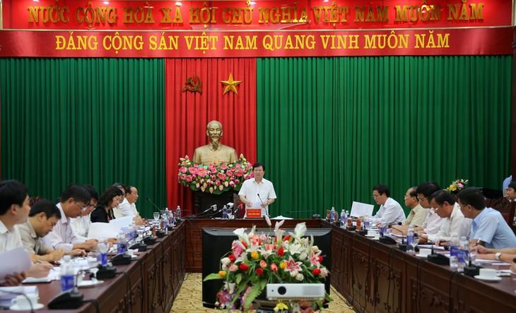 Phu Tho por avanzar en base de las ventajas industriales - ảnh 1
