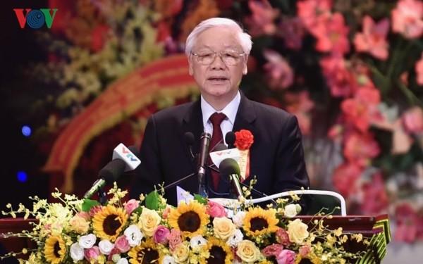 Mensaje de felicitación del presidente vietnamita en ocasión del Año Nuevo Lunar 2019 - ảnh 1