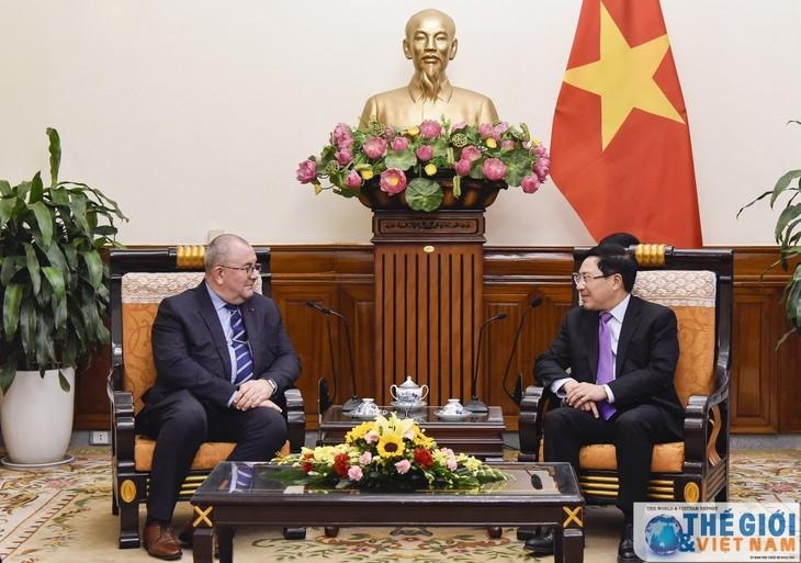 Incentivan desarrollo de relaciones económicas Vietnam-Bélgica - ảnh 1
