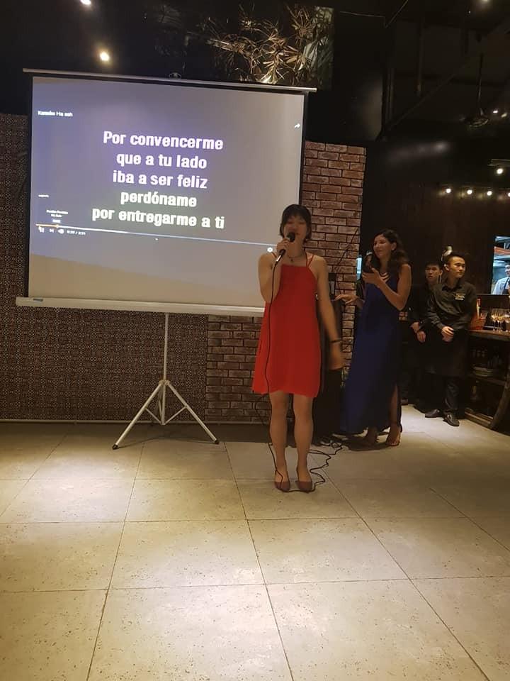 """Concurso """"La Voz latina"""" atrae a talentos vietnamitas amantes del idioma español - ảnh 2"""