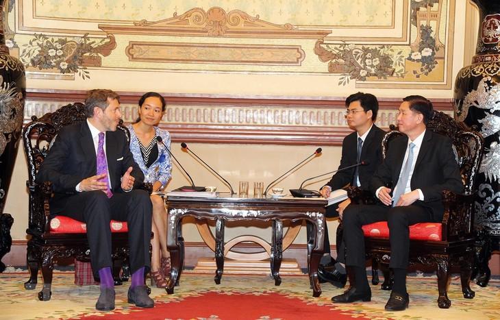 Ciudad Ho Chi Minh y Austria promueven potencialidades de cooperación - ảnh 1