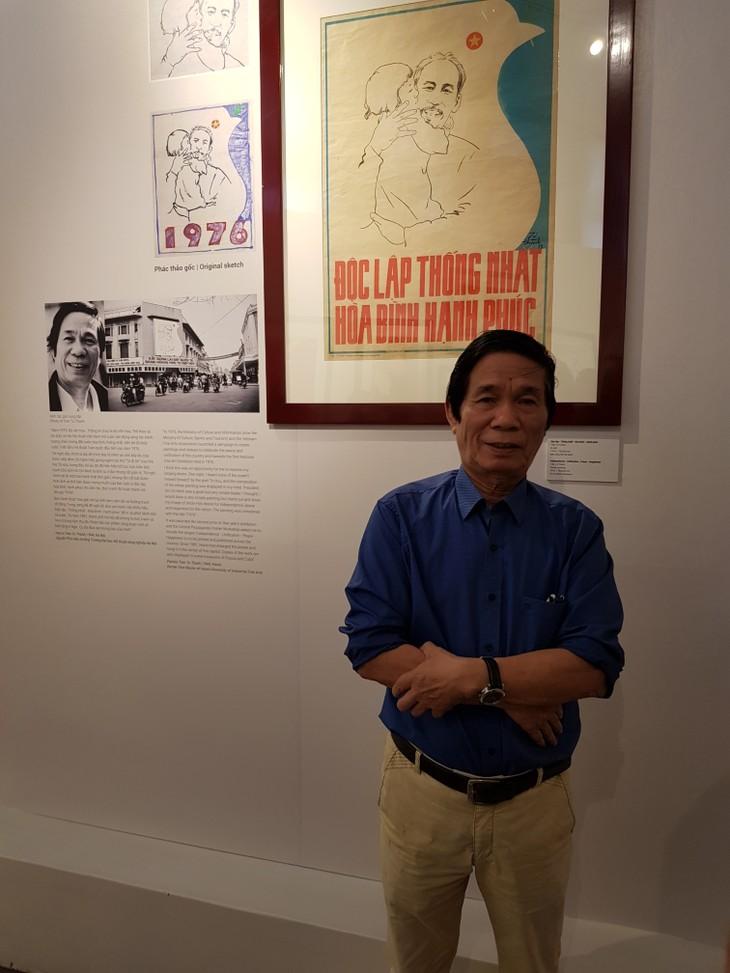 Tran Tu Thanh, un pintor revolucionario - ảnh 1