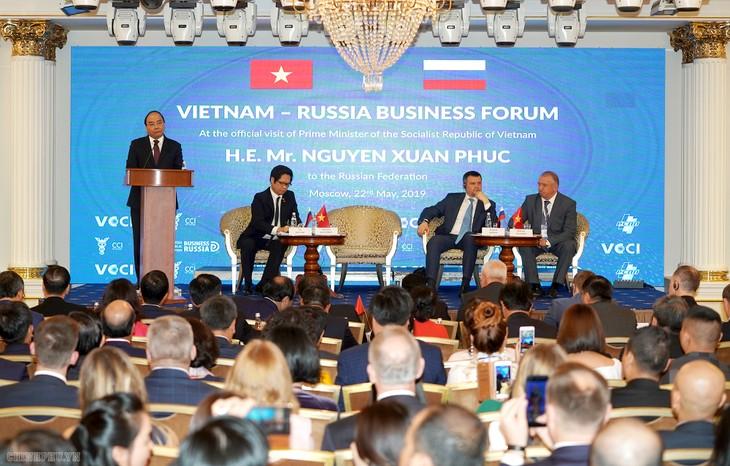 Fortalecen potencialidades de cooperación empresarial Vietnam-Rusia - ảnh 1