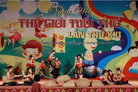 Actividades a propósito del Día Internacional de la Infancia en Vietnam - ảnh 1