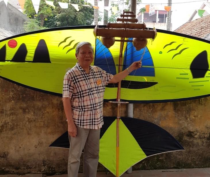 Nguyen Huu Kiem, un artesano empeñado en preservar los valores de los cometas - ảnh 1