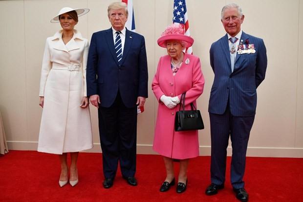 Presidente estadounidense finaliza visita al Reino Unido - ảnh 1