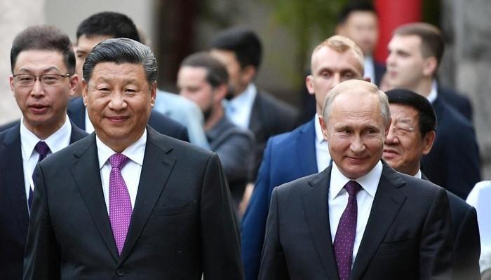 Líderes de Rusia y China acuerdan elevar vínculos a asociación estratégica integral - ảnh 1