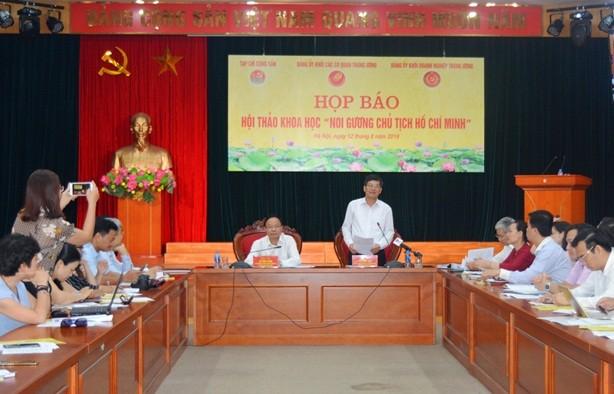 """Celebrarán seminario científico """"Seguir el ejemplo del presidente Ho Chi Minh"""" - ảnh 1"""