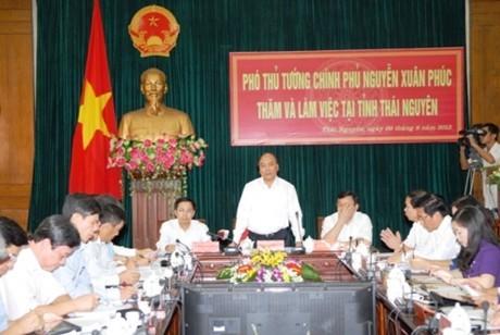 フック副首相、タイグエン省を視察 - ảnh 1