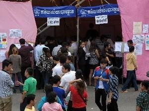 カンボジア総選挙の暫定結果 - ảnh 1