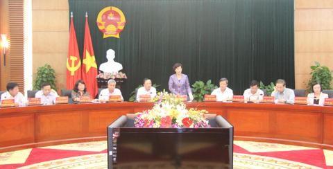 ガン国会副議長、ハイフォン市党委員会と会合 - ảnh 1