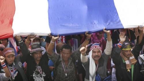 タイ総選挙で不在者投票実施 反政府派は抗議 - ảnh 1