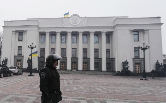 ウクライナ議会、デモ参加者恩赦法案を可決 - ảnh 1
