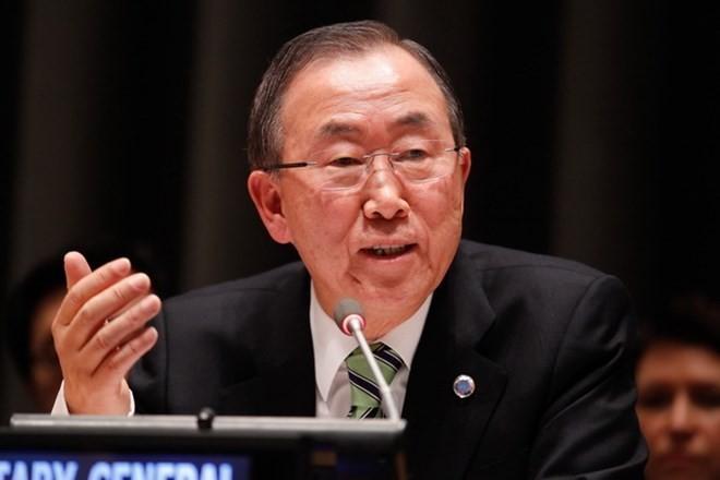 国連事務総長、チェルノブイリ被害者支援を提唱 - ảnh 1