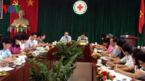 ニャン祖国戦線議長、赤十字協会指導部と会合 - ảnh 1
