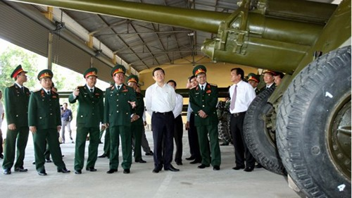 サン国家主席、第7軍管区を訪問 - ảnh 1
