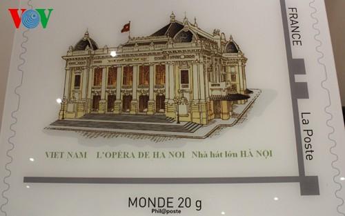 仏、越に残るコロニアル建築切手を発行 - ảnh 2