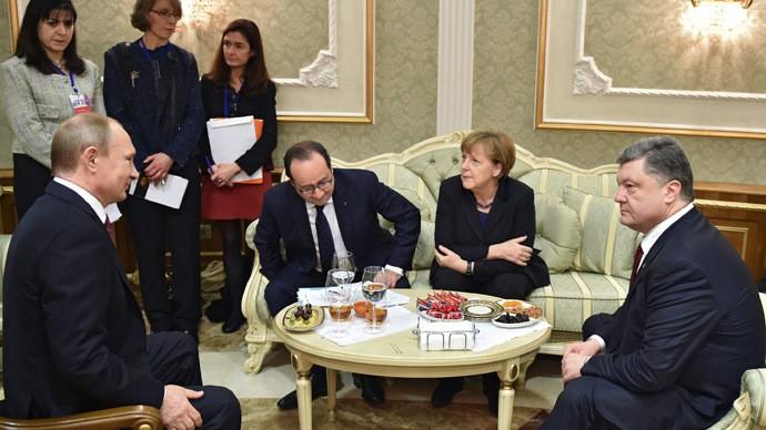 ウクライナ問題に関する4カ国首脳会談を巡る問題 - ảnh 1