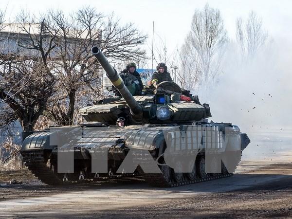 「停戦」暗雲、重火器撤去期限も双方が拒否 - ảnh 1