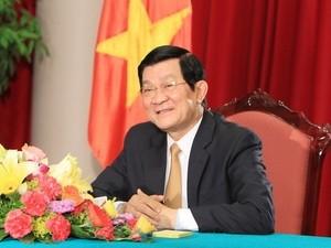 サン国家主席、ベトナムが国際社会への参入を進めていく - ảnh 1