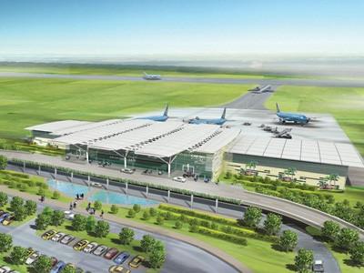 ルア政治局員、カットビー国際空港建設現場を視察 - ảnh 1