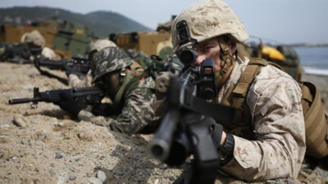 米韓軍事演習 来月2日開始と発表 - ảnh 1
