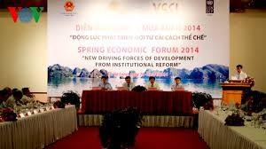 春の経済フォーラム2015、まもなく開催 - ảnh 1