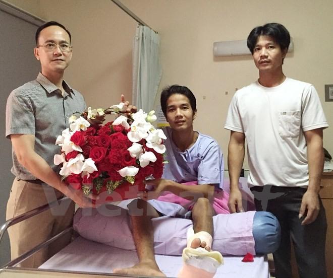 タイ爆弾テロのベトナム人負傷者、退院 - ảnh 1