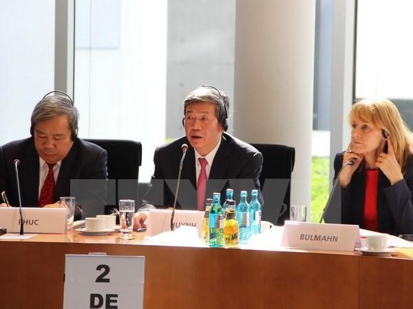 ベトナム共産党代表団、ドイツ社会民主党との理論対話に参加 - ảnh 1