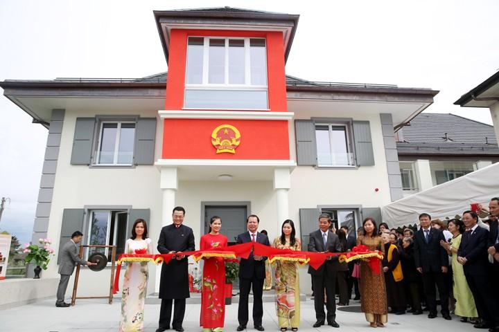 ジュネーブの国連欧州本部常駐ベトナム代表団の新事務所、落成 - ảnh 1