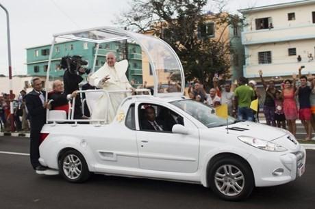 ローマ法王がキューバ訪問 米との国交回復を仲介 - ảnh 1