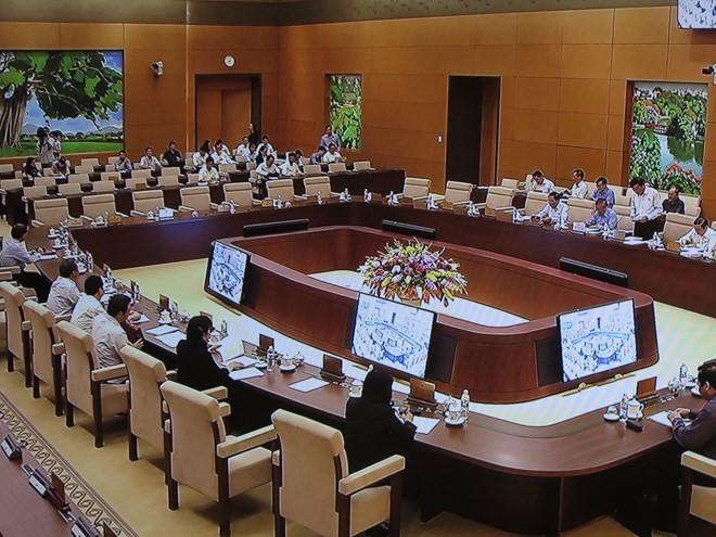 国会常務委員会の第41回会議、閉幕 - ảnh 1