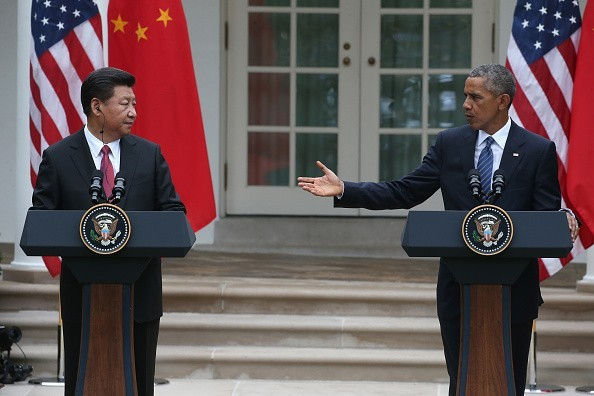 米大統領、中国国家主席と会談 - ảnh 1
