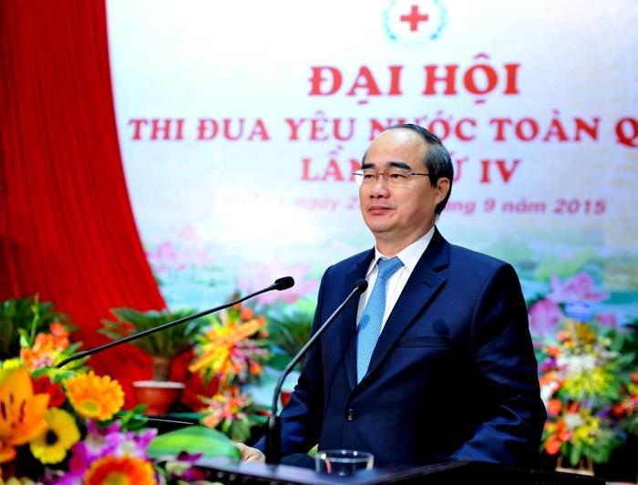 ベトナム赤十字協会の愛国競争大会 - ảnh 1