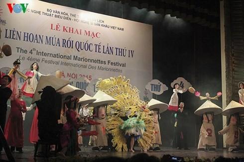 第4回国際人形劇フェスティバル - ảnh 1