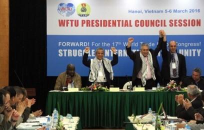 国際労働組合総連合、ベトナムの領有権確保を支持 - ảnh 1