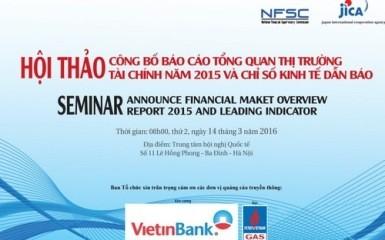 2015年度のベトナム金融市場報告書の公表 - ảnh 1