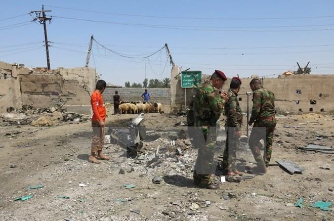 IS、イラク南部の自爆テロで犯行声明 - ảnh 1