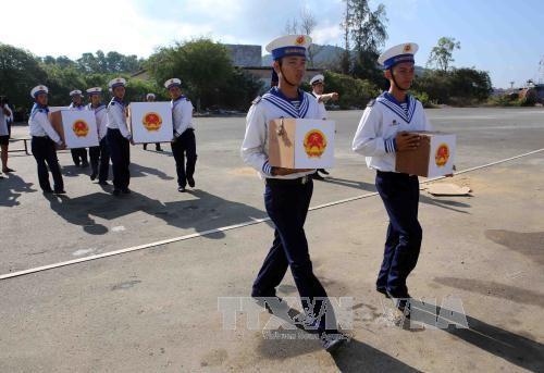チュォンサ県は選挙作業を完了 - ảnh 1