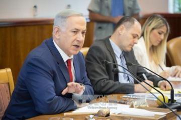 イスラエル首相、パレスチナ和平会議めぐり協議に反対表明 - ảnh 1